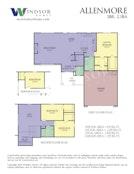 Allenmore 2D Floor Plan
