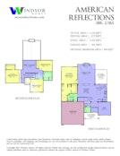American Reflections 2D Floor Plan