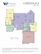Cordeaux II 2D Floor Plan