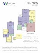Hampton 2D Floor Plan