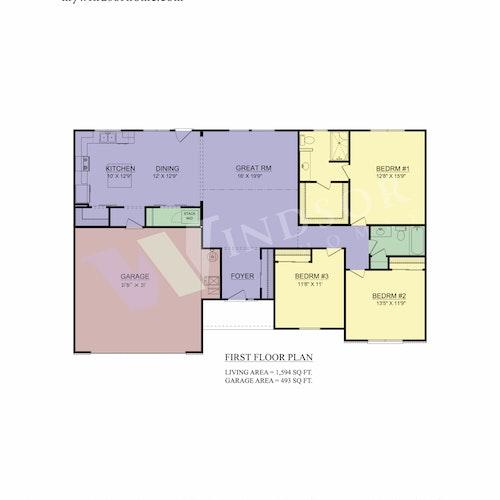 Monterey - Monterey 2D Floor Plan 1