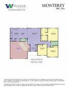 Monterey 2D Floor Plan
