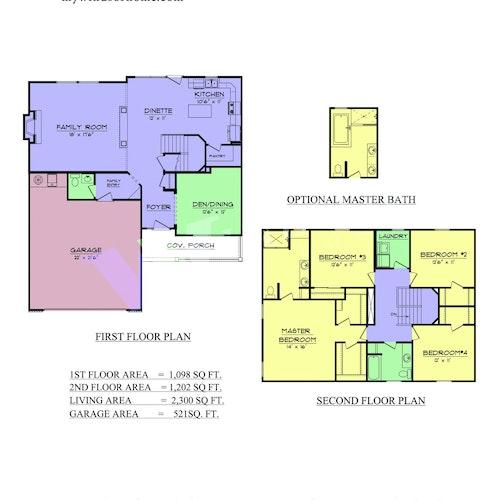 Summerlyn - Summerlyn 2D Floor Plan 1