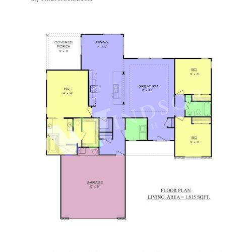 Walkerton - Walkerton 2D Floor Plan 1