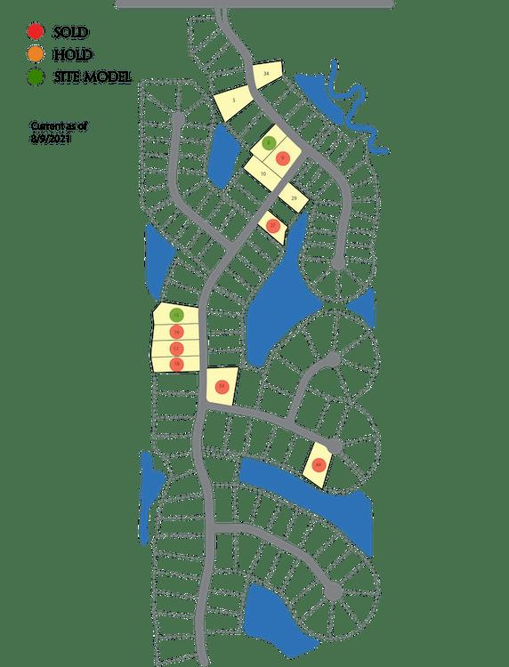 Tullymore Run Plat Map