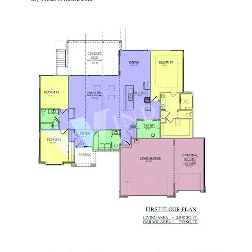 Frazier 21 - Frazier 2D Floor Plan 1