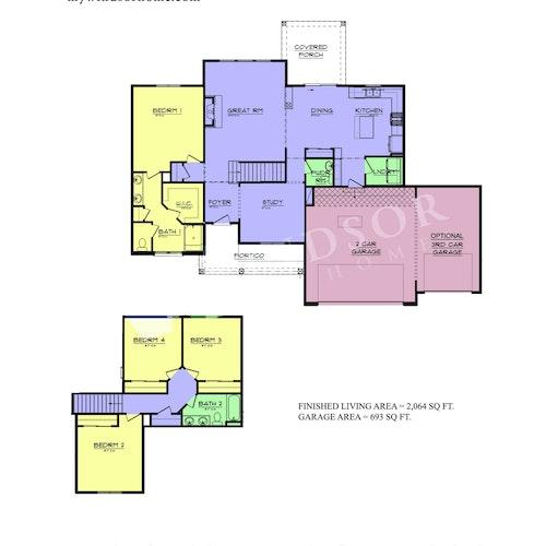 Monarch - Monarch 2D Floor Plan 1