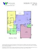 Hollin 17 2D Floor Plan