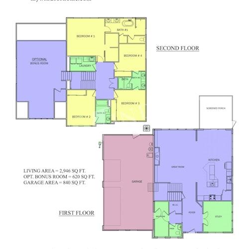 Weston 29 - Weston 29 2D Floor Plan 1